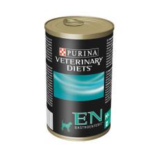 Purina (Пурина) Veterinary Diets EN Gastroenteric Canine. Консервированный диетический корм для собак, страдающих от заболеваний ЖКТ 400г