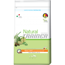 Trainer Natural Super Premium Adult Maxi Con Pollo Fresco, Riso & Aloe Vera