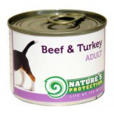 Natures Protection Adult Beef&Turkey 0.2 кг