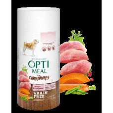 Корм Optimeal для собак беззерновой с индейкой и овощами 0,65 кг; 4 кг; 10; кг