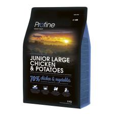 Profine (Профайн) JUNIOR LARGE BREED CHICKEN & POTATOES курица и картофель для молодых собак больших пород 3кг;15кг