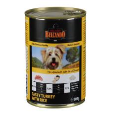 Belcando (Белькандо) Best Quality Meat Turkey&Rice. Консерва для собак с индейкой и рисом 0.4 кг; 0.8 кг
