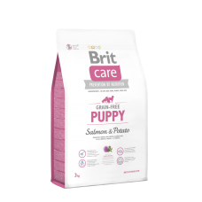 Brit Care GF Puppy Salmon & Potato 1 кг; 3 кг; 12 кг (д/щенков)