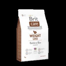 Brit Care Weight Loss Rabbit & Rice 1 кг; 3 кг; 12 кг (д/соб. с лишним весом)
