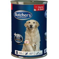 Butcher's (Бутчерс) Plus Functional. Консервированный корм для собак с дичью и кусочками говядины 0.4кг;1.2кг