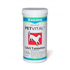 Canina (Канина) Dog Petvital Canhydrox GAG глюкозамин с экстрактом мидий 90табл; 180табл; 600табл