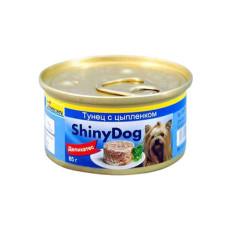 Gimpet (Джимпет) Shiny Dog Chicken & Tuna. Консервированный корм для собак с курицей и тунцом 0.085 кг
