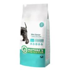 Nature's Protection (Нейчерес Протекшн) Mini Senior Small Breeds сухой корм с мясом птицы для пожилых собак мелких пород 2 кг;7.5 кг