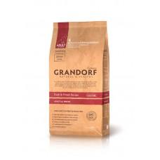 Grandorf Duck & Potato All Breeds - утка для взрослых собак 26/16 - 1кг; 3кг; 12кг