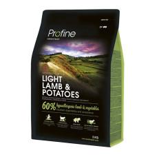 Profine (Профайн) LIGHT LAMB & POTATOES ягненок и картофель для оптимизации веса 3кг;15кг