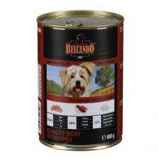 Belcando (Белькандо) Best Qualiity Meat Liver. Консерва для собак с мясом и печенью 0,4кг, 0.8 кг