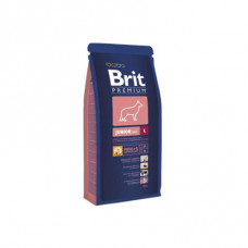 Brit Premium Junior L 3 кг; 15 кг