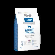 Brit Care Adult Large Breed Lamb & Rice 1 кг; 3 кг; 12 кг (д/собак весом от 25 кг)