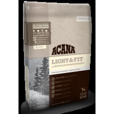 Acana (Акана) Adult Light&Fit корм для взрослых собак, склонных к полноте 2кг;11,4кг