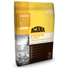 Acana (Акана) Puppy & Junior корм для щенков средних пород 0.34кг; 2кг; 6кг; 11.4кг; 17кг