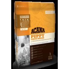 Acana (Акана) Puppy Large Breed корм для щенков крупных пород 11.4кг; 17кг