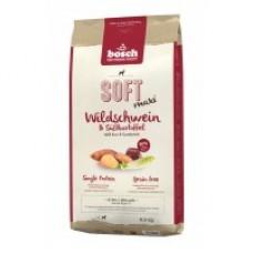 Bosch (Бош) SOFT MAXI WILD BOAR & SWEET POTATO корм для собак крупных пород с мясом дикого кабана и картофеля 1кг;2,5кг;12,5кг