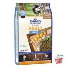 Bosch (Бош) HPC Adult Fish&Potato. Корм для взрослых собак с рыбой и картофелем 1кг;3кг;15кг