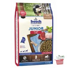 Bosch (Бош) НРС Junior Lamb&Rice. Корм для щенков с чувствительным пищеварением с ягненком и рисом 1кг;3кг;15кг