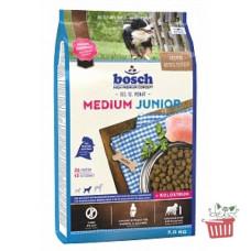 Bosch (Бош) HPC Junior Medium. Корм для щенков средних пород 1кг;3кг;15кг