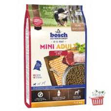 Bosch (Бош) НРС Adult Mini Lamb&Rice. Корм для взрослых собак малых пород с ягненком и рисом 1кг;3кг;15кг