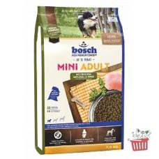 Bosch (Бош) НРС Adult Mini Poultry&Spelt. Корм для взрослых собак малых пород с птицей и просом 1кг;3кг