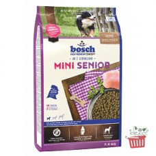 Bosch (Бош) НРС Mini Senior. Корм для пожилых собак малых пород 1кг;2.5кг