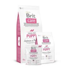 Brit Care (Брит Кеа) GF Puppy Salmon & Potato сухой корм с лососем и картофелем для щенков малых пород 1 кг; 3 кг; 12 кг