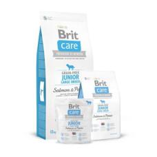 Brit Care (Брит Кеа) GF Junior Large Breed Salmon & Potato сухой корм с лососем и картофелем для щенков гигантских пород 1 кг; 3 кг; 12 кг