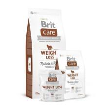 Brit Care (Брит Кеа) Weight Loss Rabbit & Rice ухой гипоаллергенный корм с кроликом и рисом для собак с избыточным весом 1 кг; 3 кг; 12 кг