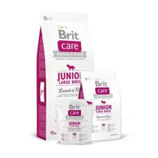 Brit Care (Брит Кеа) Junior Large Breed Lamb & Rice сухой корм с ягненком и рисом для щенков крупных пород 1 кг; 3 кг; 12 кг