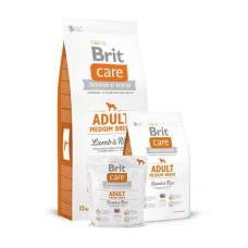 Brit Care (Брит Кеа) Adult Medium Breed Lamb & Rise сухой корм с ягненком и рисом для взрослых собак средних пород (весом от 10 до 25 кг) 1 кг; 3 кг; 12 кг