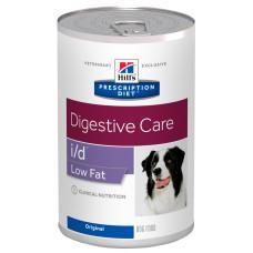 Hill's (Хиллс) Prescription Diet Canine і/d Low Fat влажный корм с низким содержанием жира для собак, страдающих желудочно-кишечными заболеваниями 360г