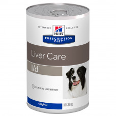 Hill's (Хиллс) Prescription Diet Canine l/d Liver Care влажный корм для собак при заболевании печени 370г
