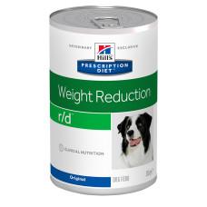 Hill's (Хиллс) Prescription Diet Canine r/d Weight Reduction влажный корм для собак со свининой, страдающих лишним весом и ожирением 350г