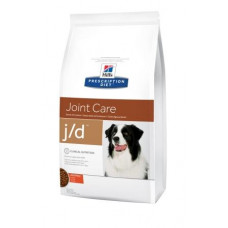 Hill's (Хиллс) Prescription Diet Canine J/d диета для собак, страдающих от болей в суставах 2кг;12кг