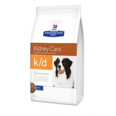 Hill's (Хиллс) Prescription Diet Canine K/d диета для собак, страдающих от почечной или сердечной недостаточности 2кг;12кг