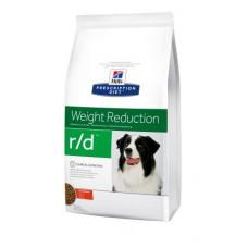Hill's (Хиллс) Prescription Diet Canine R/d диета для собак, страдающих от ожирения 1.5кг;12кг