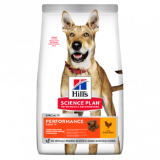 Hill's (Хиллс) Science Plan Canine Adult Performance корм для взрослых активных собак 14кг