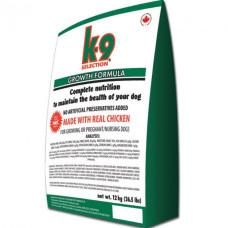 K9 Selection Growth Formula корм для щенков всех пород 12кг