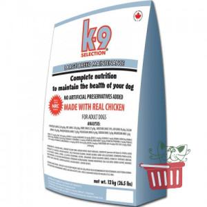 K9 Selection Large Breed Maintenance Formula корм для взрослых собак крупных пород 12кг; 20кг