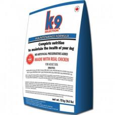 K9 Selection Maintenance Formula корм для взрослых собак средних пород 5кг; 12кг; 20кг