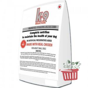 K9 Selection Growth Small Breed Formula корм для щенков мелких пород 20кг