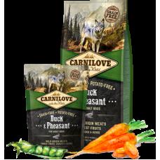 Carnilove (Карнилав) Adult Dog Duck & Pheasant беззерновой корм с уткой и фазаном для взрослых собак 1,5кг; 12кг