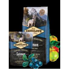 Carnilove (Карнилав) Adult Dog Salmon беззерновой корм с лососем для взрослых собак 1,5кг; 12кг