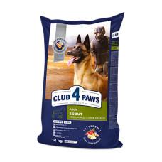 Клуб 4 Лапы Paws Скаут для взрослых рабочих собак средних и крупных пород 5кг; 14кг