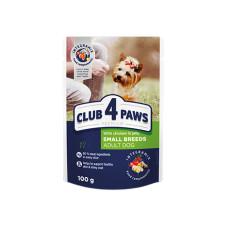 Клуб 4 Лапы с курицей в желе для взрослых собак малых пород 100г
