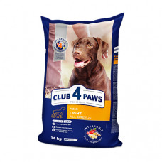 Клуб 4 Лапы контроль веса для собак всех пород 14кг
