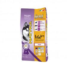 Natyka (Натика) Gold Chicken & Rice Dog полувлажный корм для взрослых собак разных пород 4,5кг