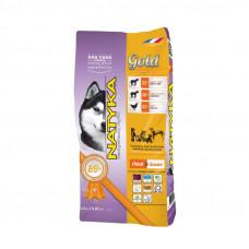 Natyka (Натика) Gold Lamb & Rice Dogs полувлажный корм для собак разных пород на всех этапах жизни 4,5кг